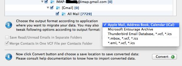 convert outlook for mac to Thunderbird