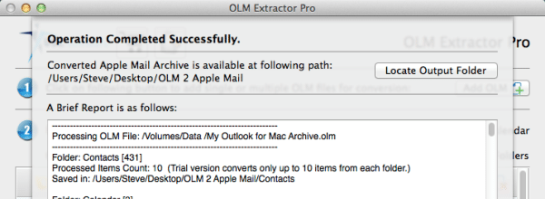 export outlook for mac to thunderbird