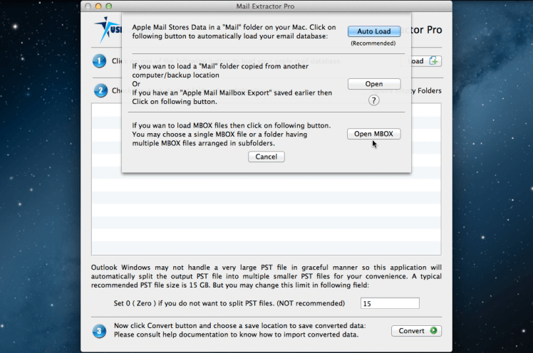 convert Thunderbird MBOX to Outlook PST
