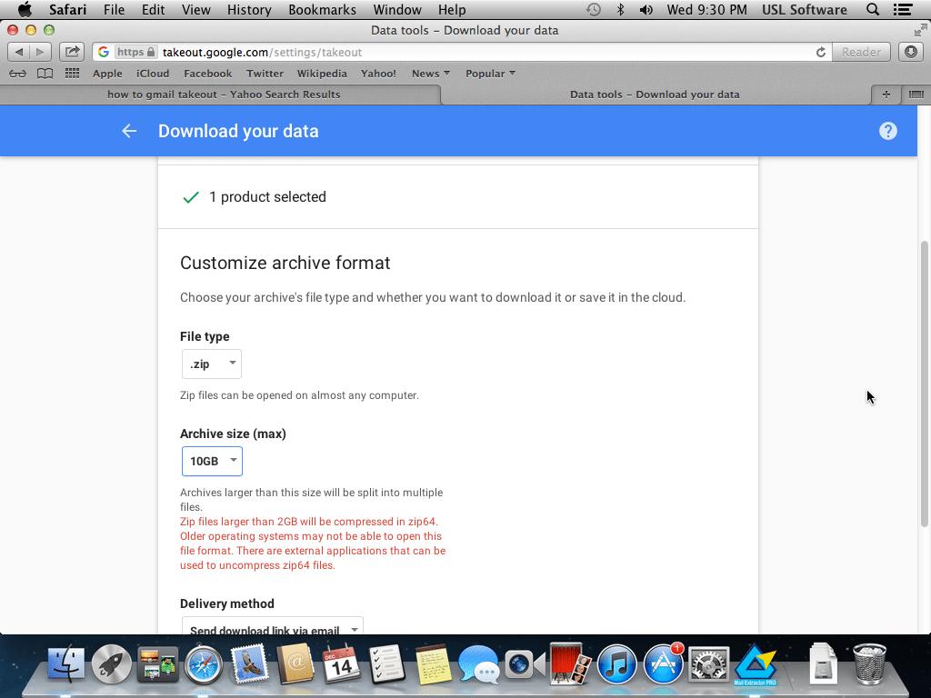 max backup download