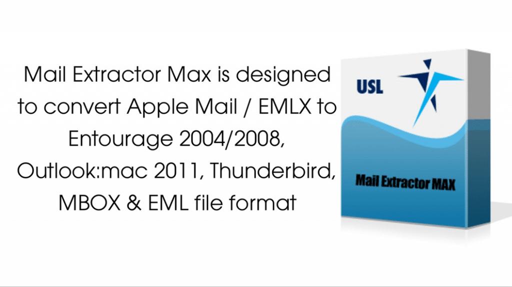 EMLX to Thunderbird Converter