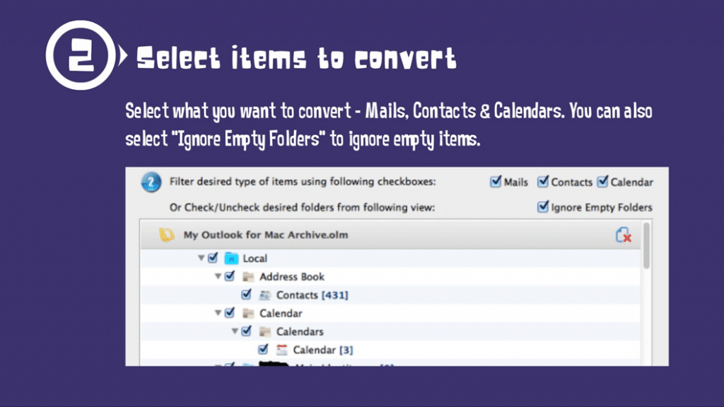 Import mail from Outlook 2011 to Mac Mail