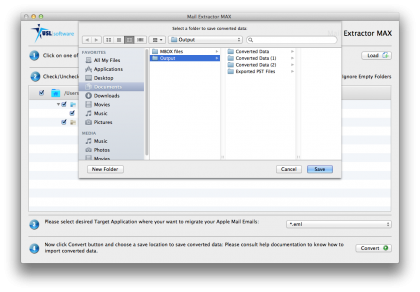 emlx to eml file conversion