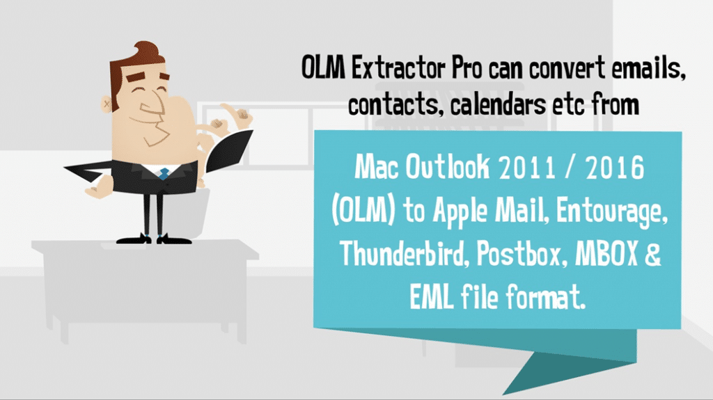 import mails from Outlook 2011 to Mac Mail