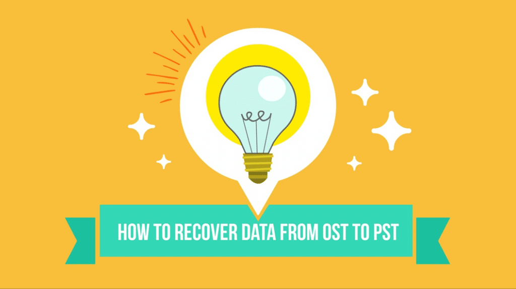 OST vs PST - Recover data from ost to pst
