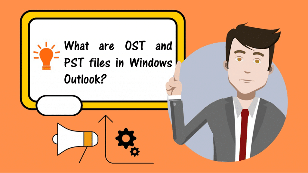 What are OST and PST files in Windows Outlook