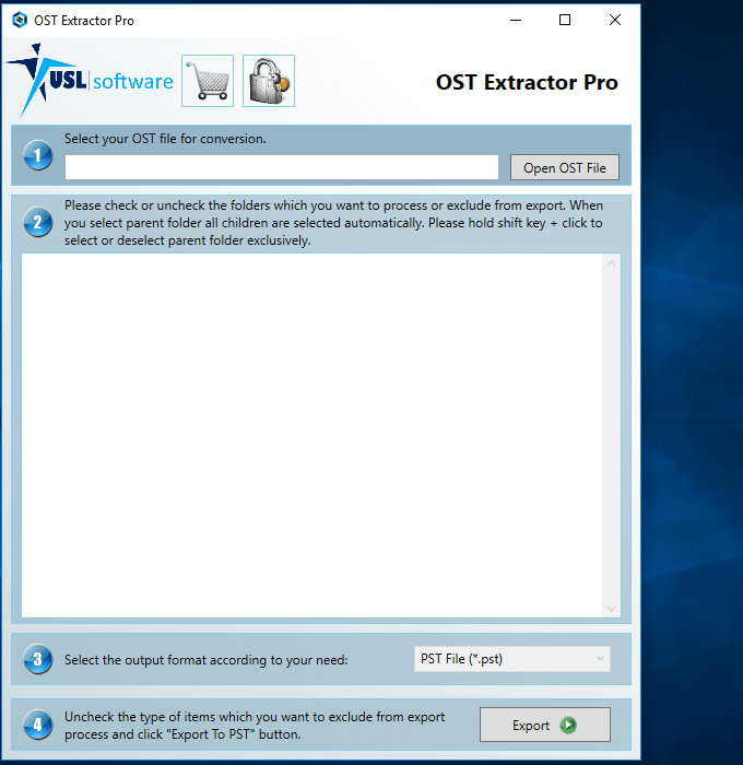 How to convert ost to pst Outlook 2010, 2013, 2016 or Office 365