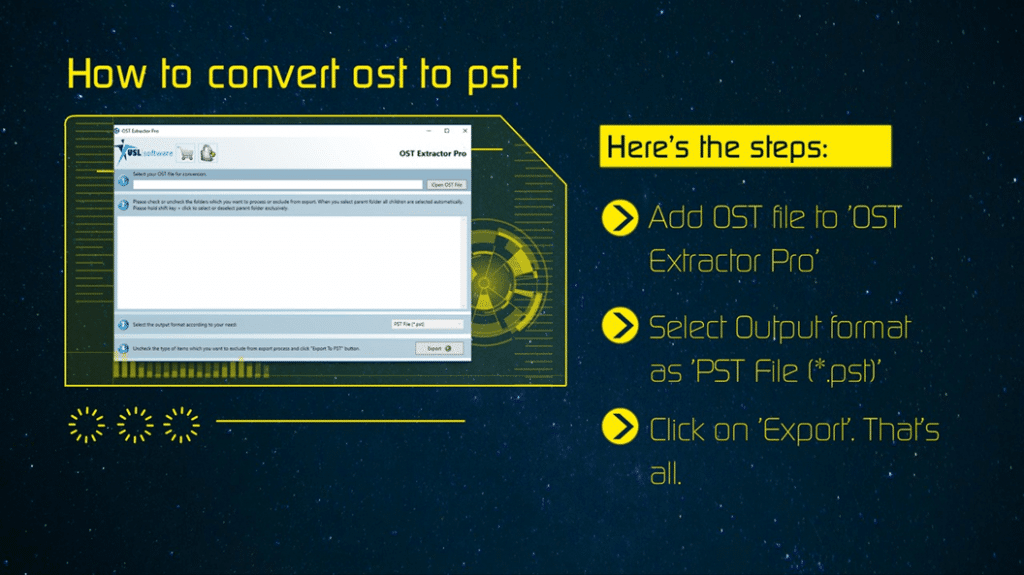 how to change ost to pst outlook 2016