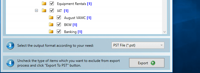 ost to pst converter free version