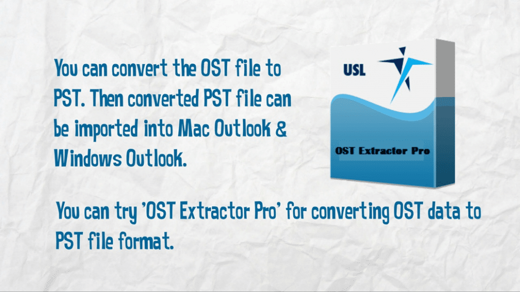Cannot Open OST File in Outlook