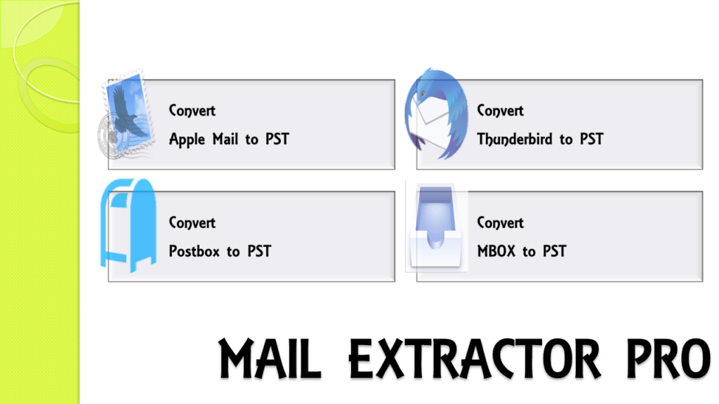 Mac Mail Export Mailbox to PST