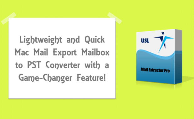 Mac Mail Export Mailbox to PST Outlook