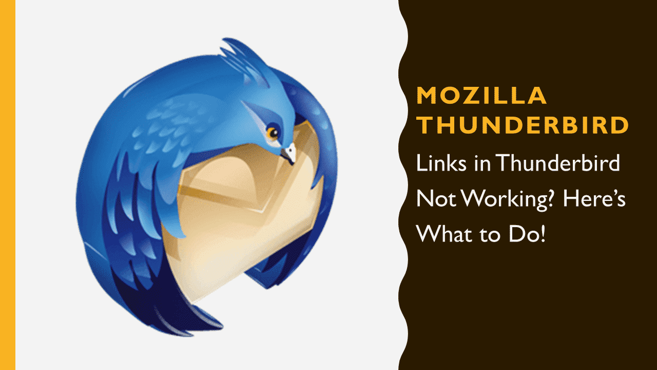 Links in Thunderbird Not Working? Here\u0027s What to Do! « USL Software®