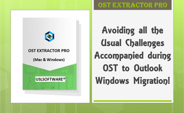 OST to Outlook Windows Migration Tool