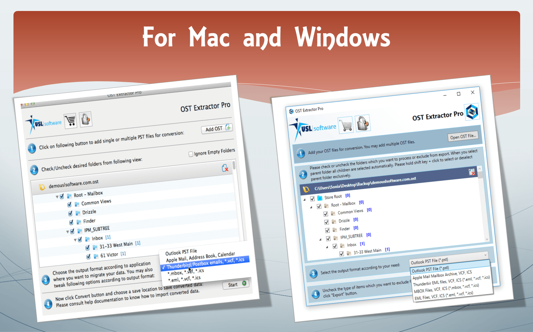 OST to PST Converter for Mac & Windows Works Efficiently and Correctly