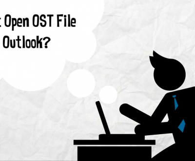 Open OST in Outlook