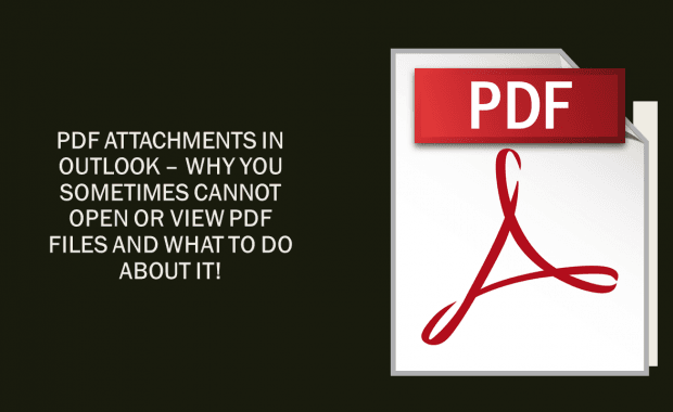 PDF Attachments in Outlook