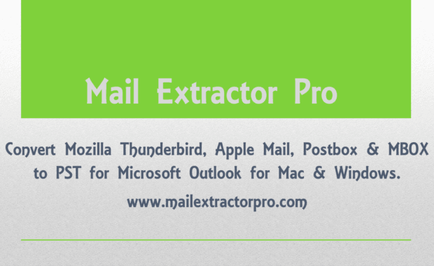 Thunderbird to Outlook Export