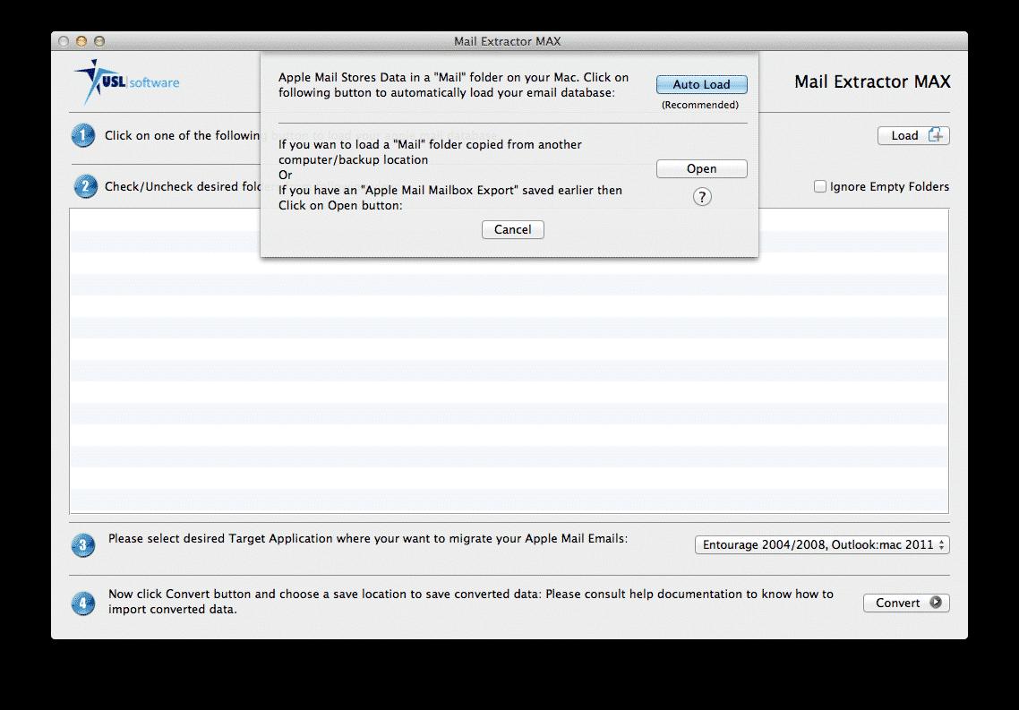where entourage store email mac
