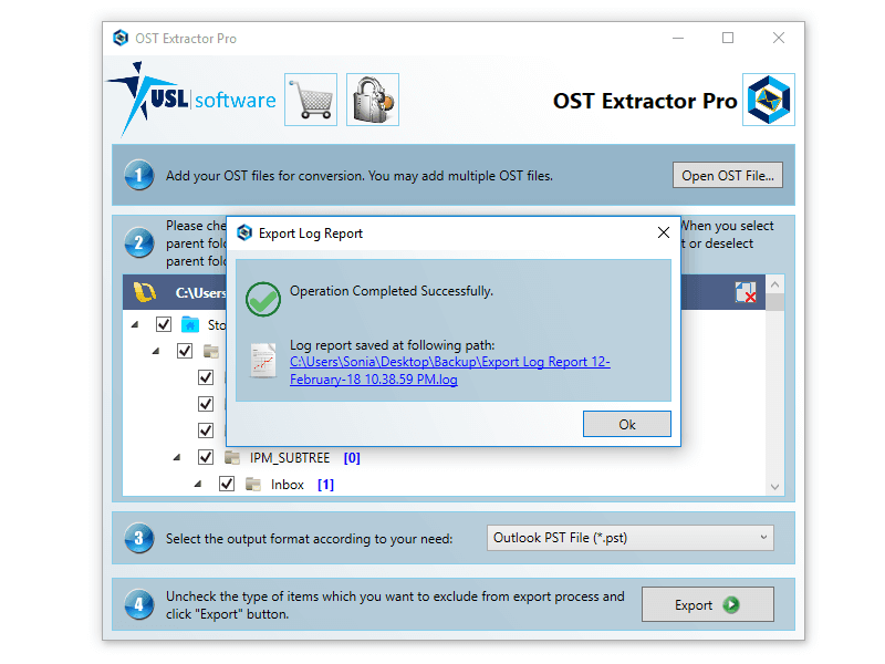 converter ost to pst