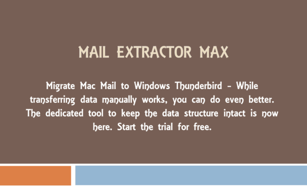 mac mail to windows thunderbird