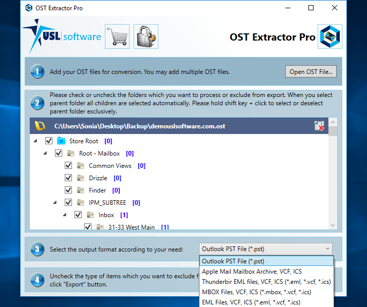 OST to EML Converter for Mac and Windows