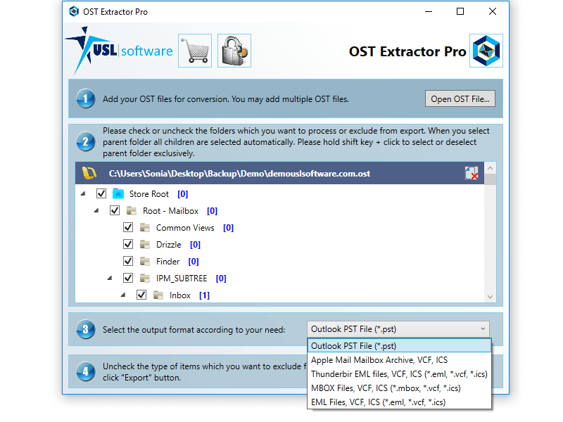 ost to mbox converter for windows
