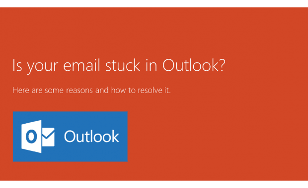 Is an Email Stuck in Outlook – Here Are the Most Common Causes and What to Do About them!